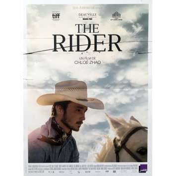 THE RIDER Original Movie Poster - 15x21 in. - 2018 - Chloé Zhao, Brady Jandreau