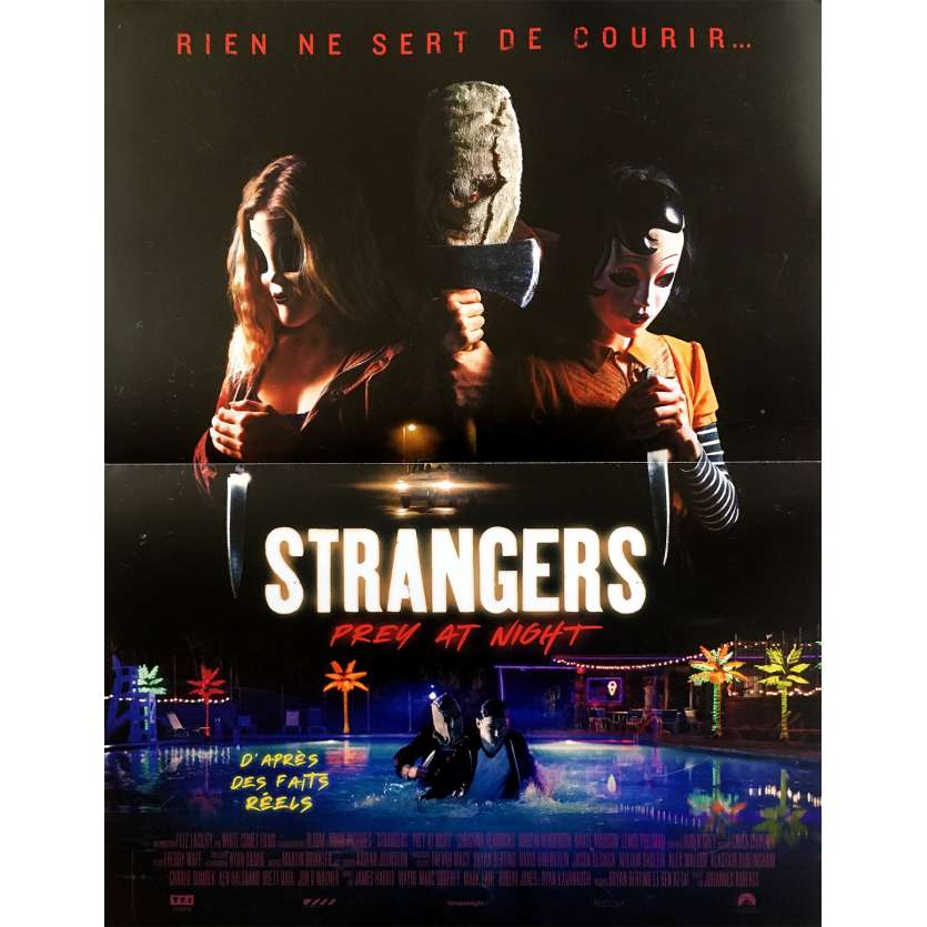 the strangers prey at night movie poster 15x21 in