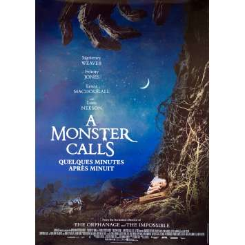 A MONSTER CALLS Original Movie Poster - 28x40 in. - 2016 - J.A. Bayona, Felicity Jones
