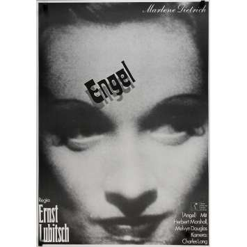 BLUE ANGEL Original Movie Poster - 23x33 in. - R1970 - Josef von Sternberg, Marlene Dietrich