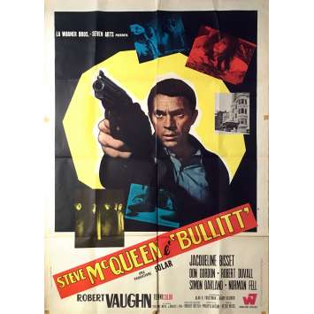 BULLITT Original Movie Poster - 39x55 in. - 1968 - Peter Yates, Steve McQueen