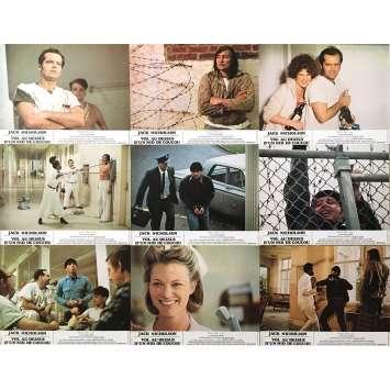 VOL AU DESSUS D'UN NID DE COUCOU Photos de film x8, Jeu B - 21x30 cm. - 1975 - Jack Nicholson, Milos Forman