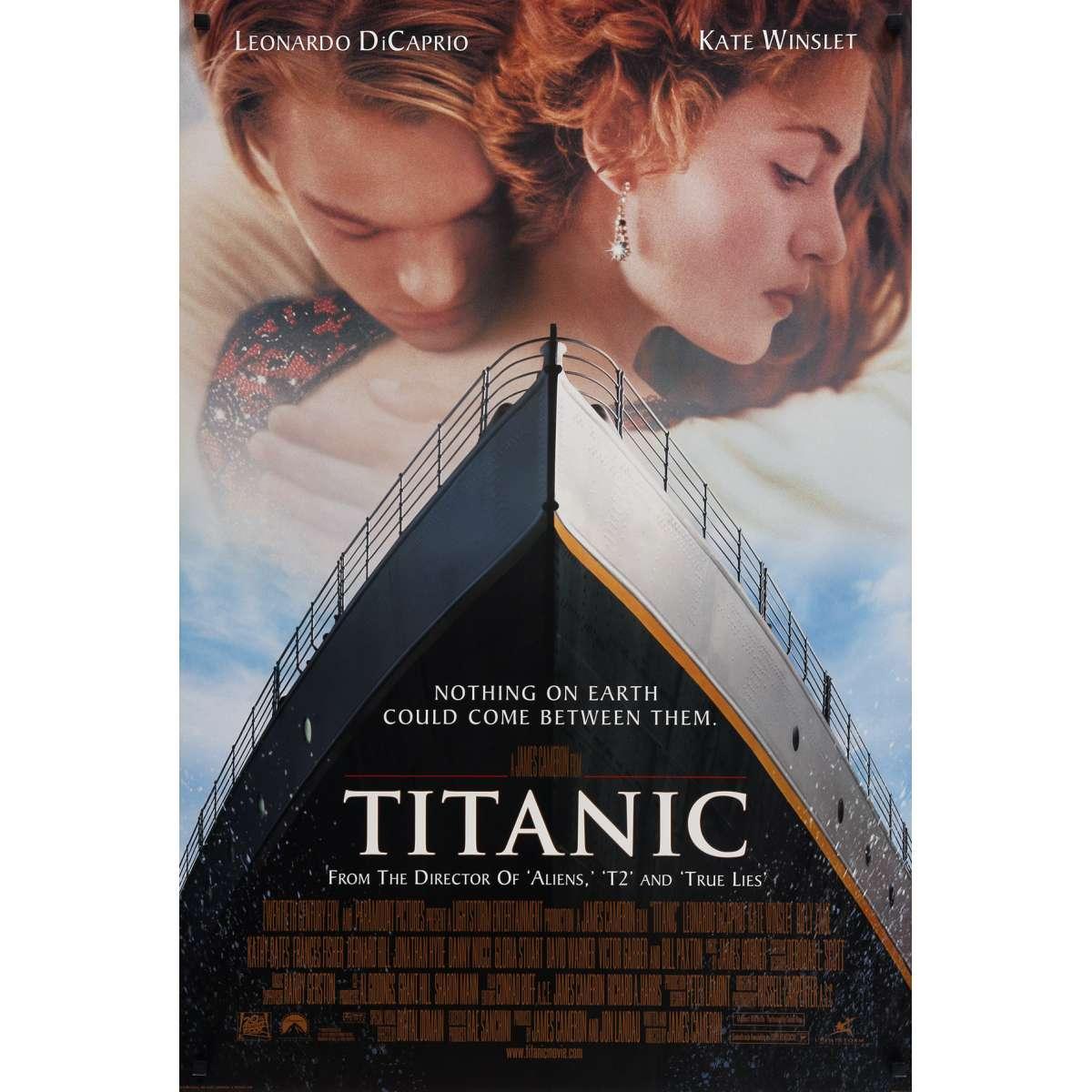 Affiche Americaine De Titanic