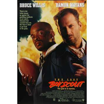 THE LAST BOY SCOUT Original Movie Poster Int'l A - 27x40 in. - 1991 - Tony Scott, Bruce Willis