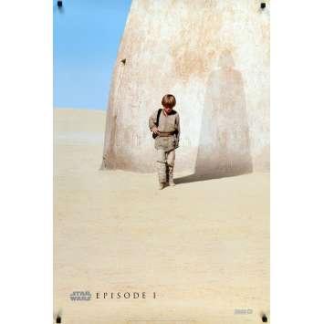 STAR WARS - THE PHANTOM MENACE Original Movie Poster Style A Teaser - 27x40 in. - 1999 - George Lucas, Ewan McGregor