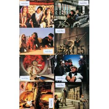 ARMOUR OF GOD 2: OPERATION CONDOR Original Lobby Cards x8 - 9x12 in. - 1991 - Jackie Chan, Jackie Chan