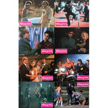 THE KARATE KID Original Lobby Cards x8 - 9x12 in. - 1990 - John G. Avildsen, Ralph Macchio
