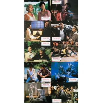 THE KARATE KID II Original Lobby Cards x10 - 9x12 in. - 1986 - John G. Avildsen, Ralph Macchio