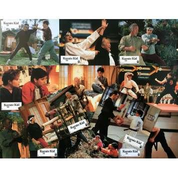 THE KARATE KID III Original Lobby Cards x12 - 9x12 in. - 1989 - John G. Avildsen, Ralph Macchio