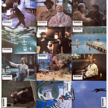 REMO Photos de film x12 - 21x30 cm. - 1985 - Fred Ward, Guy Hamilton