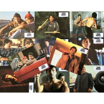 THE PERFECT WEAPON Original Lobby Cards x11 - 9x12 in. - 1991 - Mark DiSalle, Jeff Speakman