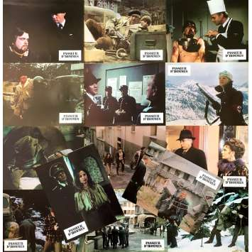 THE PASSAGE Original Lobby Cards x14 - 9x12 in. - 1979 - Jack Lee Thomson, Anthony Quinn