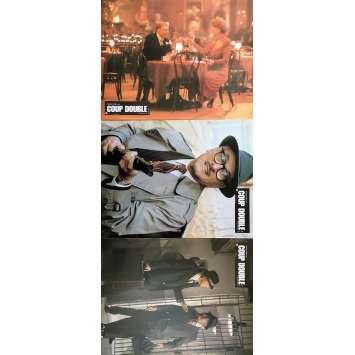 TOUGH GUYS Original Lobby Cards x3 - 9x12 in. - 1986 - Jeff Kanew, Burt Lancaster, Kirk Douglas