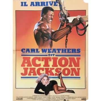 ACTION JACKSON Affiche de film - 40x60 cm. - 1988 - Carl Weathers, Craig R. Baxley