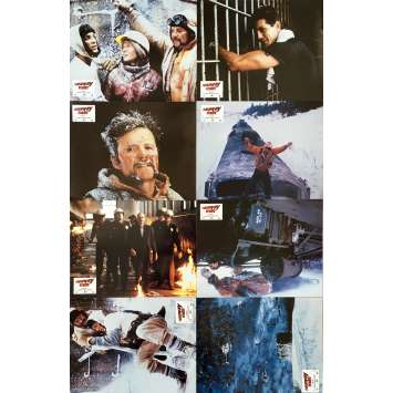 RUNAWAY TRAIN Photos de film x8 - 21x30 cm. - 1985 - Jon Voigt, Andrey Konchalovskiy