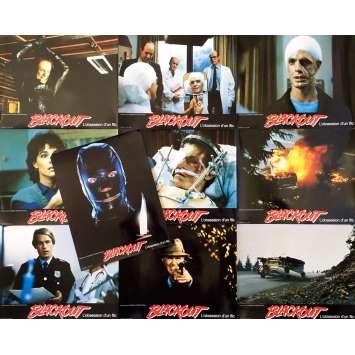 BLACKOUT Photos de film x10 - 21x30 cm. - 1985 - Keith Carradine, Douglas Hickox