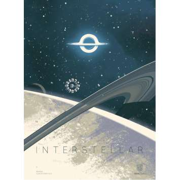 INTERSTELLAR Limited Imax Poster AMC C - 12x16 in. - 2014 - Christopher Nolan, Matthew McConaughey