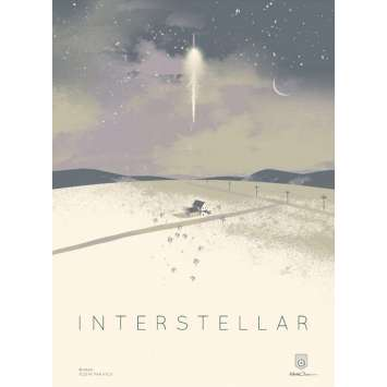 INTERSTELLAR Limited Imax Poster AMC B - 12x16 in. - 2014 - Christopher Nolan, Matthew McConaughey