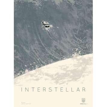 INTERSTELLAR Affiche Imax AMC A - 30x40 cm. - 2014 - Matthew McConaughey, Christopher Nolan