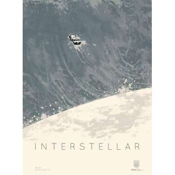 INTERSTELLAR Limited Imax Poster AMC A - 12x16 in. - 2014 - Christopher Nolan, Matthew McConaughey
