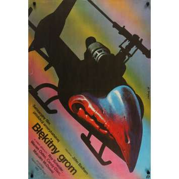 BLUE THUNDER Original Movie Poster - 29x40 in. - 1983 - John Badham, Roy Sheider