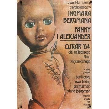FANNY ET ALEXANDRE Affiche de film - 70x100 cm. - 1982 - Bertil Guve, Ingmar Bergman