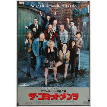 THE COMMITMENTS Original Movie Poster - 20x28 in. - 1991 - Alan Parker, Robert Arkins