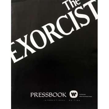 L'EXORCISTE Dossier de presse - 28x43 cm. - 1974 - Max Von Sidow, William Friedkin