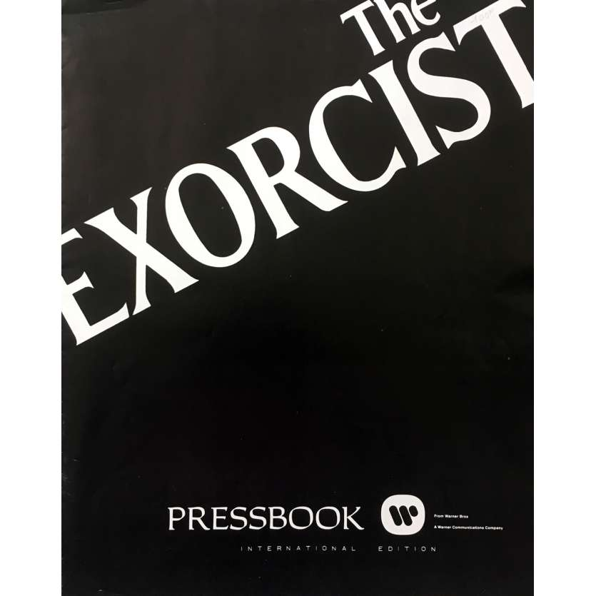 L'EXORCISTE Dossier de presse - 28x43 cm. - 1974 - Max Von Sidow, William Friedkin