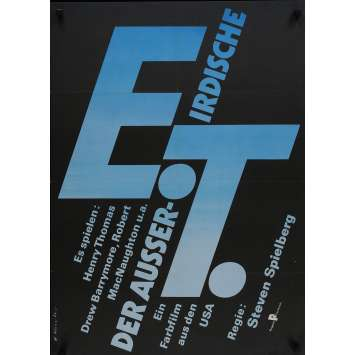 E.T. L'EXTRA-TERRESTRE Affiche de film - 59x84 cm. - 1982 - Dee Wallace, Steven Spielberg
