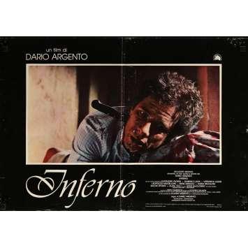 INFERNO Photobusta N10 - 46x64 cm. - 1980 - Daria Nicolodi, Dario Argento