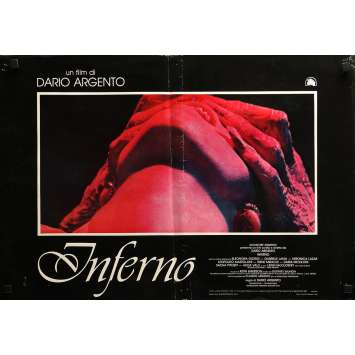 INFERNO Photobusta N09 - 46x64 cm. - 1980 - Daria Nicolodi, Dario Argento