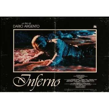 INFERNO Photobusta N08 - 46x64 cm. - 1980 - Daria Nicolodi, Dario Argento