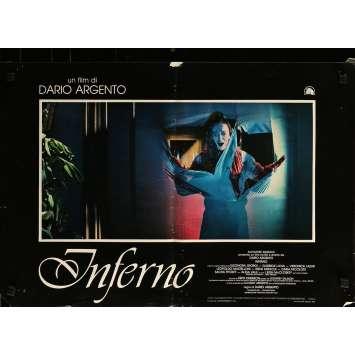 INFERNO Photobusta N06 - 46x64 cm. - 1980 - Daria Nicolodi, Dario Argento