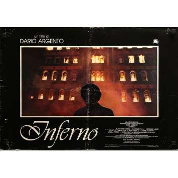 INFERNO Photobusta N05 - 46x64 cm. - 1980 - Daria Nicolodi, Dario Argento