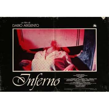 INFERNO Photobusta N04 - 46x64 cm. - 1980 - Daria Nicolodi, Dario Argento