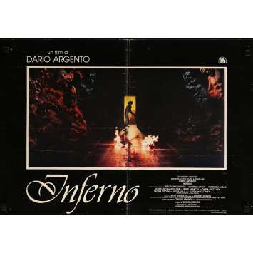 INFERNO Photobusta N02 - 46x64 cm. - 1980 - Daria Nicolodi, Dario Argento