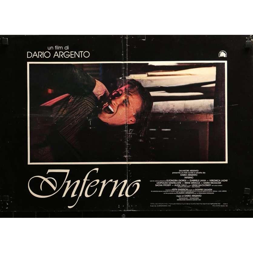 INFERNO Original Photobusta Poster N01 - 18x26 in. - 1980 - Dario Argento, Daria Nicolodi