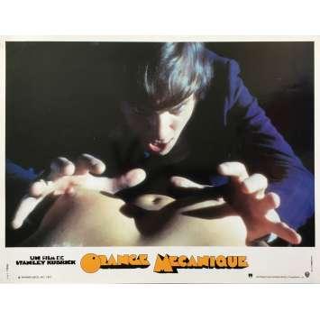ORANGE MECANIQUE Photo de film N03 - 21x30 cm. - 1990's - Malcom McDowell, Stanley Kubrick