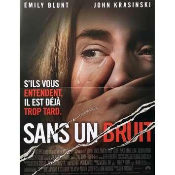 SANS UN BRUIT Affiche de film - 40x60 cm. - 2018 - Emily Blunt, John Krasinski
