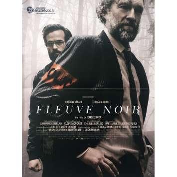 FLEUVE NOIR Affiche de film - 40x60 cm. - 2018 - Vincent Cassel, Erick Zonca