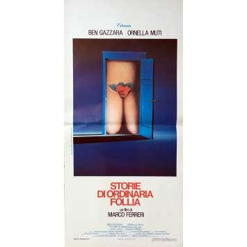 CONTES DE LA FOLIE ORDINAIRE Affiche de film - 33x71 cm. - 1981 - Ornella Muti, Marco Ferreri