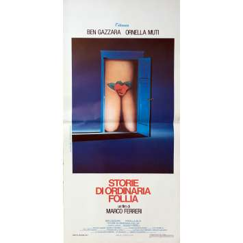 TALES OF ORDINARY MADNESS Original Movie Poster - 13x28 in. - 1981 - Marco Ferreri, Ornella Muti