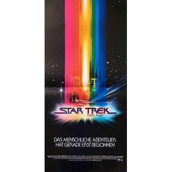 STAR TREK Affiche de film - 30x62 cm. - 1979 - William Shatner, Robert Wise