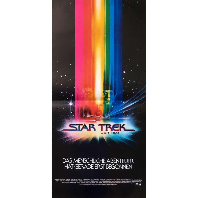 STAR TREK Original Movie Poster - 8x12 in. - 1979 - Robert Wise, William Shatner