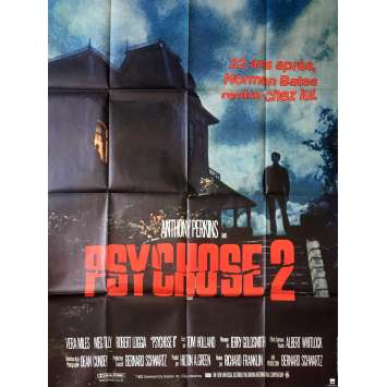 PSYCHO II Original Movie Poster - 47x63 in. - 1983 - Richard Frankilin, Anthony Perkins