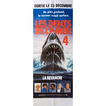 JAWS: THE REVENGE Original Movie Poster - 23x63 in. - 1987 - Joseph Sargent, Lance Guest