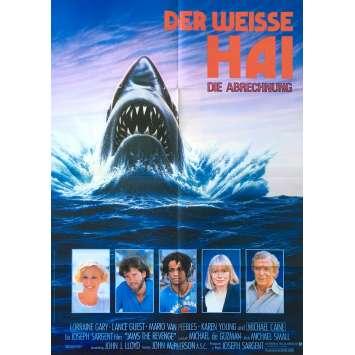 LES DENTS DE LA MER 4 Affiche de film - 59x84 cm. - 1987 - Lance Guest, Joseph Sargent