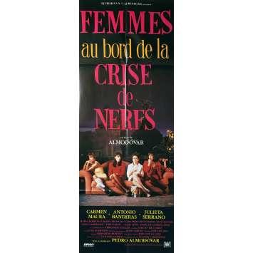 WOMEN ON A VERGE OF A NERVOUS BREAKDOWN Original Movie Poster - 23x63 in. - 1988 - Pedro Almodóvar, Carmen Maura