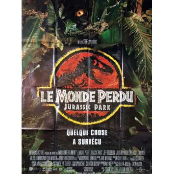 JURASSIC PARK 2 THE LOST WORLD Original Movie Poster - 47x63 in. - 1997 - Steven Spielberg, Jeff Goldblum